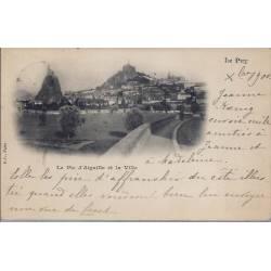 43 - Le Puy - Le pic d'Aiguille et la Ville - 1900