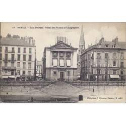 44 - Nantes - Quai Brancas - Hotel des postes