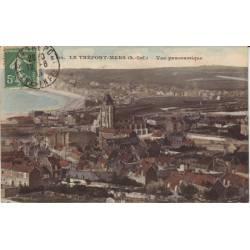 76 - Le Treport-Mers - Vue panoramique