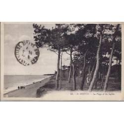 44 - St Brevin - La plage et les sapins