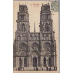 45 - Orléans - La Cathédrale - 1905