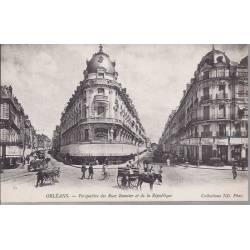 45 - Orléans - Perspective des rues Bannier