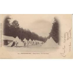 77 - Fontainebleau - Camp d'avon