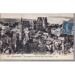 50 - Avranches - Vue générale,Baie du Mt St Michel