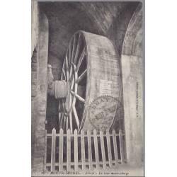 50 - Mt St Michel - La roue monte-charge