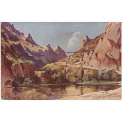 81 - Les gorges du Tarn - Couronnement du détroit