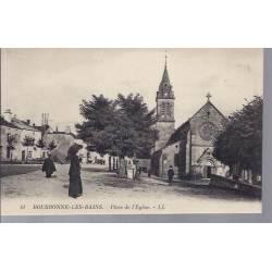 52 - Bourbonne les Bains - Place de l'Eglise