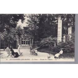 52 - Bourbonne - Le parc - Entrée du théatre