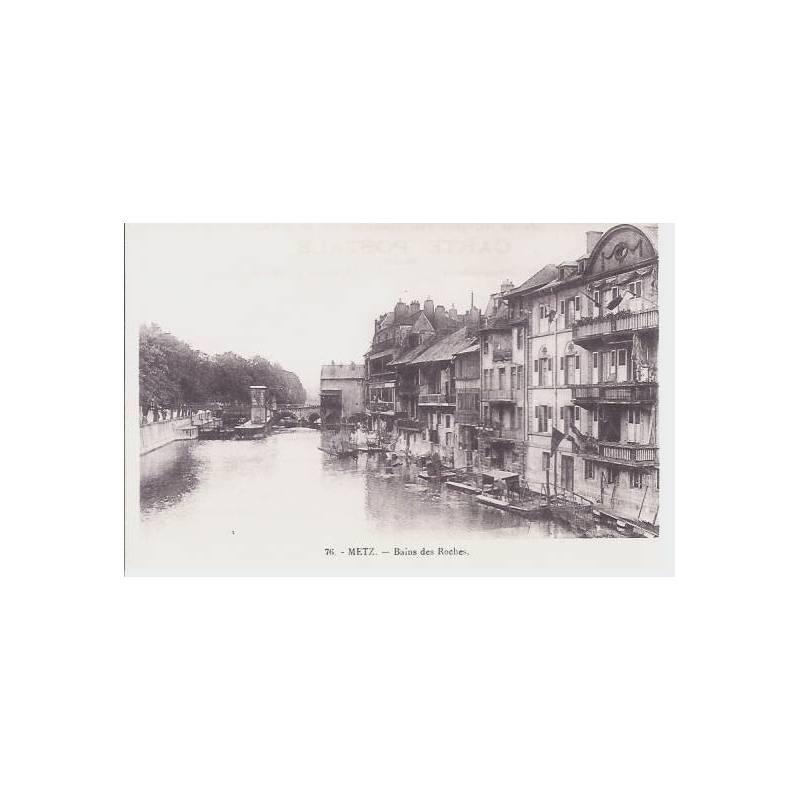 57 - Metz - Bains des roches