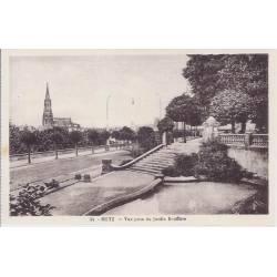 57 - Metz - Vue prise du jardin Boufflers