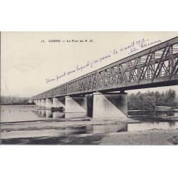 58 - Cosne - Le pont du P.O - 1912
