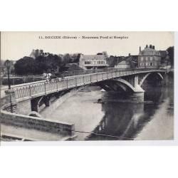 58 - Decize - Nouveau pont et hospice