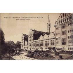 59 - Lille - Hotel de Ville et Square du Réduit