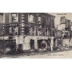 60 - Senlis - Maisons bombardées - Hotel