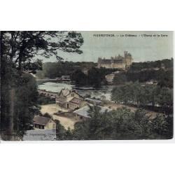 60 - Pierrefonds - Le chateau - L'etang et la gare