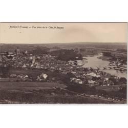 89 - Joigny - Vue prise de la cote St Jacques