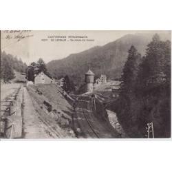 15 - Le Lioran - Route du Tunnel et voie ferrée