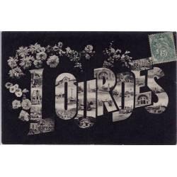 65 - Lourdes - Multivue dans les lettres