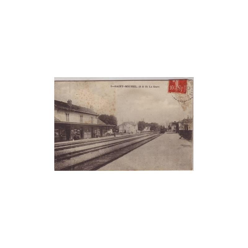 91 - Saint Michel - La gare