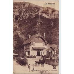 65 - Lourdes -La gare du funiculaire du pic du Jer