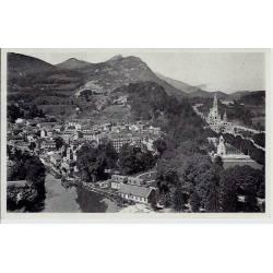 65 - Lourdes - Vue générale prise du chateau fort