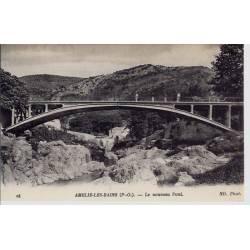 66 - Amélie les Bains - Le nouveau Pont