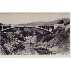66 - Amélie les Bains -Le nouveau Pont sur le Tech