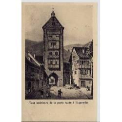 68 - Tour intérieure de la porte haute à Riquewihr