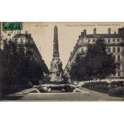 69 - Lyon - Place de la république Monument Carnot