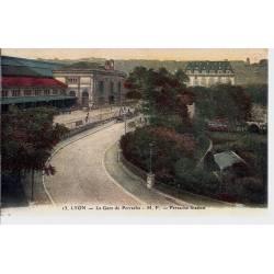 69 - Lyon - La gare de Perrache