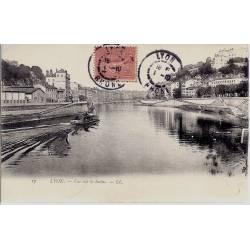 69 - Lyon - Vue sur la Saône