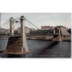 69 - Lyon - Passerelle suspendue du Midi