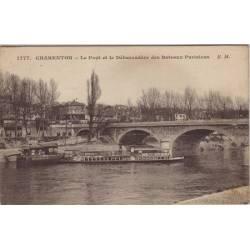 94 - Charenton - Le pont et le débarcadere
