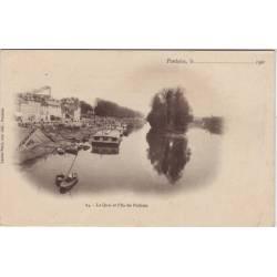 95 - Pontoise - Le quai et l'ile du Pothuis