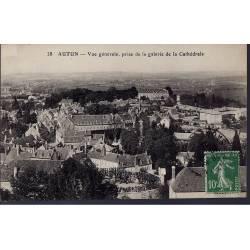 71 - Autun - Vue générale prise de la cathédrale