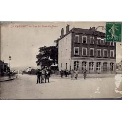 71 - Le Creusot - Rue du Pont-du-Souci - Abimée