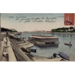 71 - Macon - Vue sur la Saône