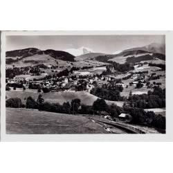 73 - Megeve et le Mont Blanc - CPSM