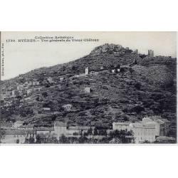 83 - Hyeres - Vue générale du vieux chateau
