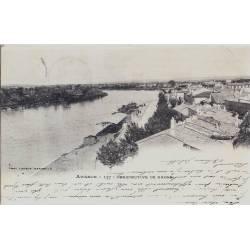 84 - Avignon - Perspective du Rhône