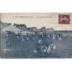 85 - Sables d'Olonne - Vue partielle de la plage
