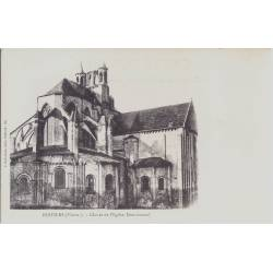 86 - Poitiers - Eglise Monterneuf - Dos non divisé