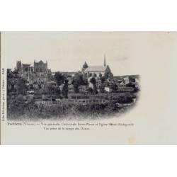 86 - Poitiers -Cathédrale St Pierre-Dos non divisé