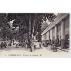 88 - Contrexeville - Le parc et la Colonnade