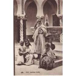 Algerie - Interieur arabe - Animee