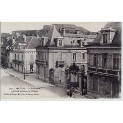 90 - Belfort - La prefecture - Le cercle militaire