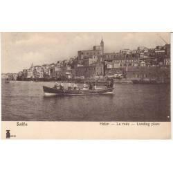 Israel - Jaffa - La rade - Barque - Animée