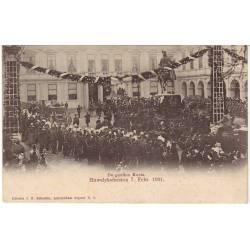 Pays-Bas De gouden Koets Huwelyksfeesten Feb. 1901