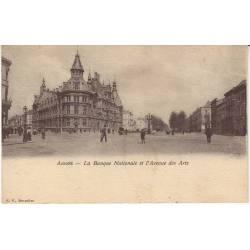 Belgique - Anvers -Banque Nationale - Ave des Arts