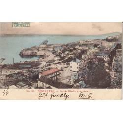 Gibraltar - South Bird's eye view - 1905